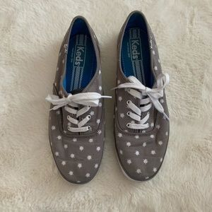 Keds Women's Size 8 US Gray Casual Shoes